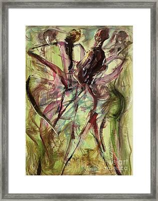 Windy Day Framed Print by Ikahl Beckford