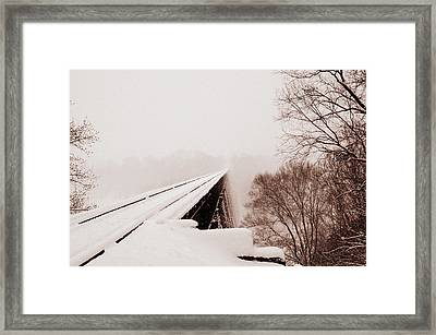 Windy Heights-03 Framed Print by Cheryl Helms