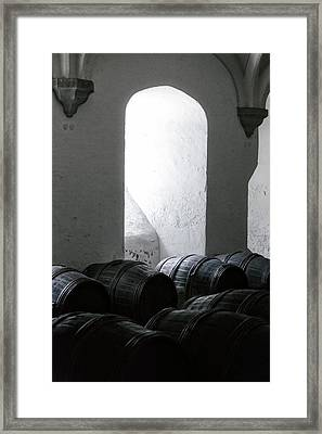 Wine Cellar Framed Print by Joana Kruse