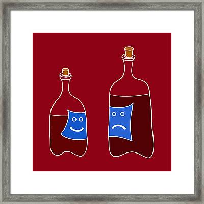 Wine Lovers Framed Print by Frank Tschakert
