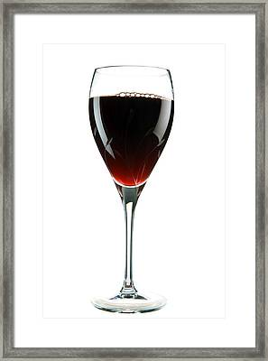 Wine Framed Print by Michael Ledray