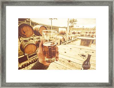 Winery Tours Tasmania Framed Print by Jorgo Photography - Wall Art Gallery