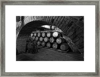Winery Treasure Framed Print by Mountain Dreams
