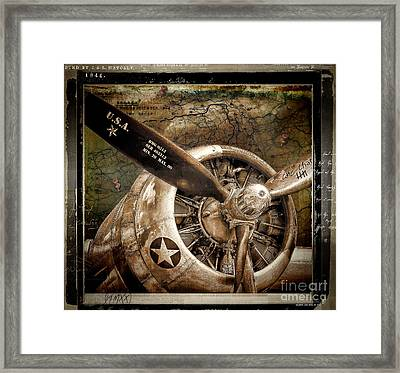 Wing And A Prayer Framed Print by Mindy Sommers