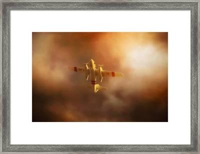 Wing And Prayer Framed Print by John Hamlon