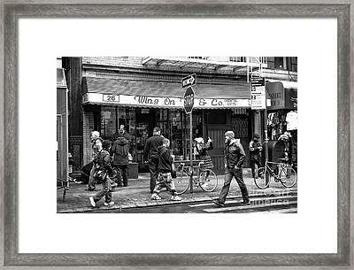 Wing On Framed Print by John Rizzuto