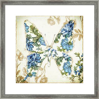Winged Tapestry Iv Framed Print by Mindy Sommers