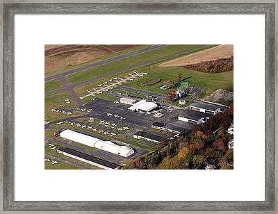Wings Field 1501 Narcissa Road Blue Bell Pennsylvania 19422 Framed Print by Duncan Pearson
