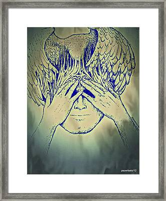 Wings To The Thoughts Framed Print by Paulo Zerbato