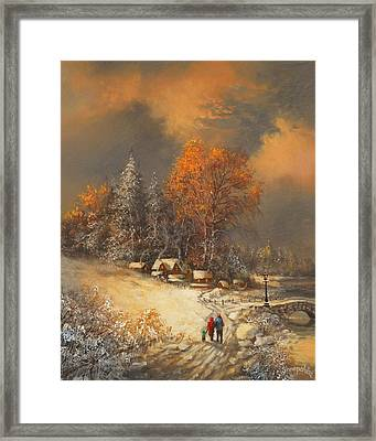 Winter Classic Framed Print by Tom Shropshire