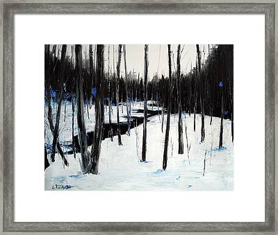 Winter Day Framed Print by Laura Tasheiko