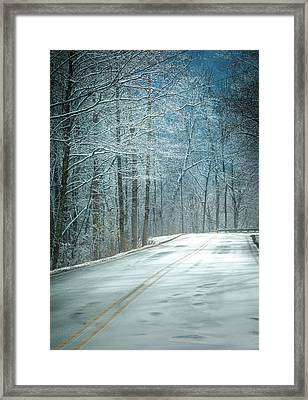 Winter Dreams Framed Print by Karen Wiles