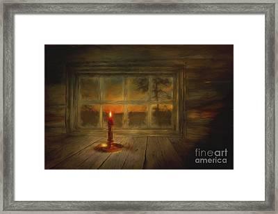 Winter Evening Framed Print by Veikko Suikkanen