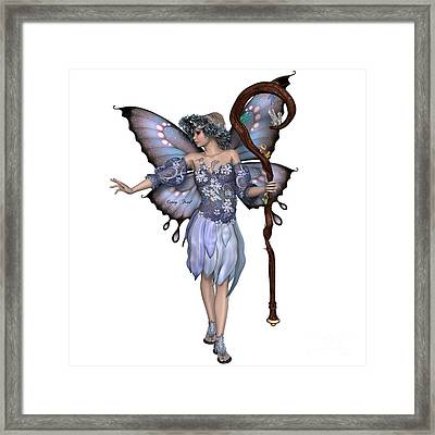 Winter Fairy Framed Print by Corey Ford