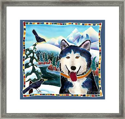 Winter Fun Framed Print by Harriet Peck Taylor