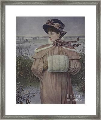 Winter Framed Print by George Henry Boughton