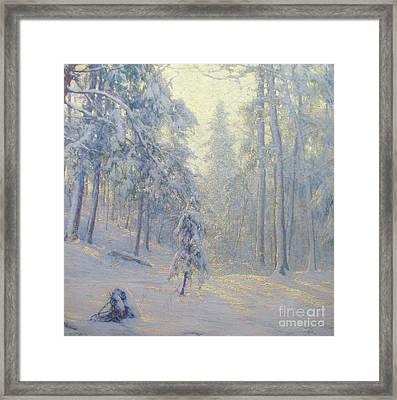 Winter Haze Framed Print by MotionAge Designs