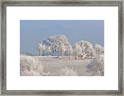 Winter In Canada Framed Print by Christine Till