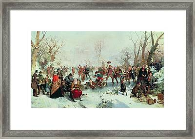 Winter In Saint James's Park Framed Print by John Ritchie