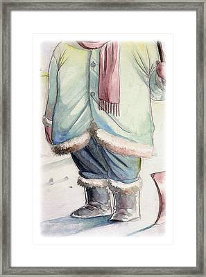 Winter Framed Print by Michael Myers