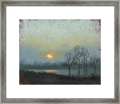 Winter Mist Framed Print by Timothy Jones