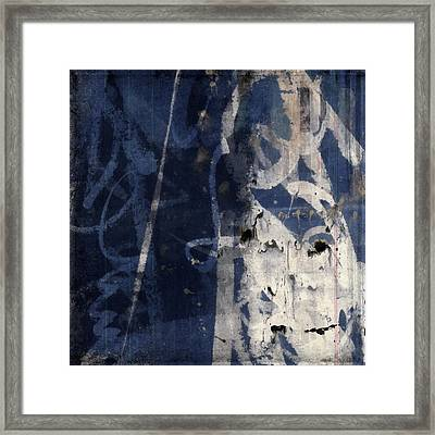 Winter Nights Series Four Of Six Framed Print by Carol Leigh