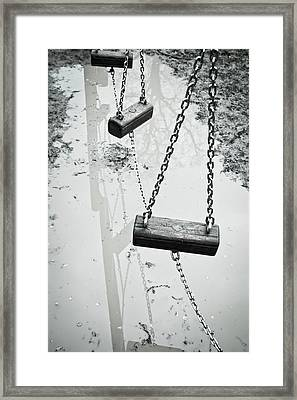 Winter Playground Framed Print by Tom Gowanlock