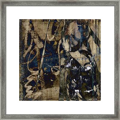 Winter Rains Series Four Of Six Framed Print by Carol Leigh