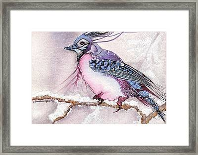 Winter Solitude Framed Print by Lesley Smitheringale