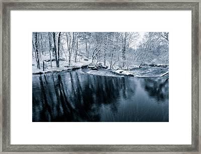 Winter Spring Framed Print by Bryan Bzdula