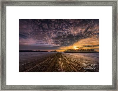 Winter Sublime Framed Print by Ian McGregor