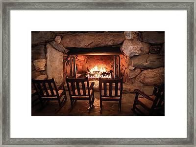 Winter Warmth Framed Print by Karen Wiles