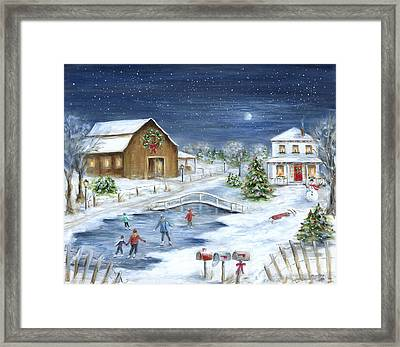Winter Wonderland Framed Print by Marilyn Dunlap