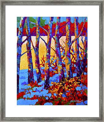 Winter's Promise Framed Print by Marion Rose