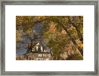 Winters Ranch 2 Framed Print by Donna Kennedy