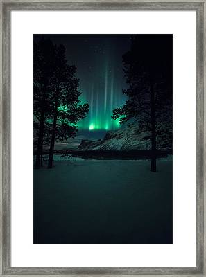 Winterspell Framed Print by Tor-Ivar Naess