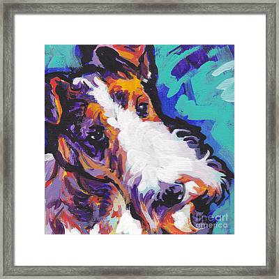 Wired Framed Print by Lea S