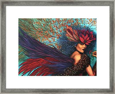 Wisdom Of A Year Framed Print by Helena Rose