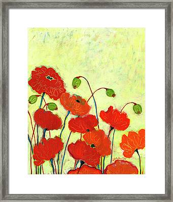 Wishful Blooming Framed Print by Jennifer Lommers