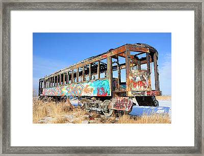 Wishing For Better Days Framed Print by Gary Whitton