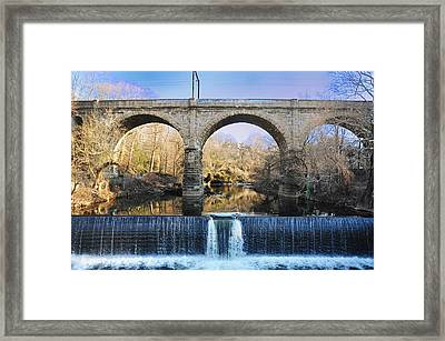 Wissahickon Viaduct Framed Print by Bill Cannon