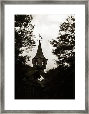 Witch House Framed Print by Amarildo Correa