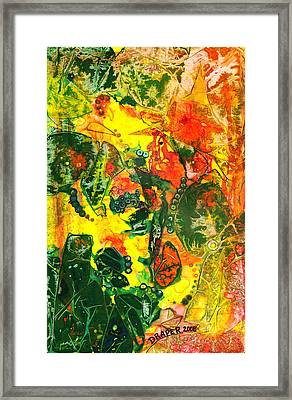 Witches Brew Framed Print by James Douglas Draper
