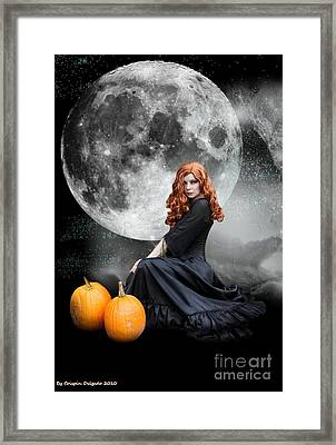 Witching Hour  Framed Print by Crispin  Delgado