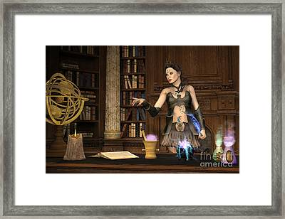 Witch's Brew Framed Print by Corey Ford