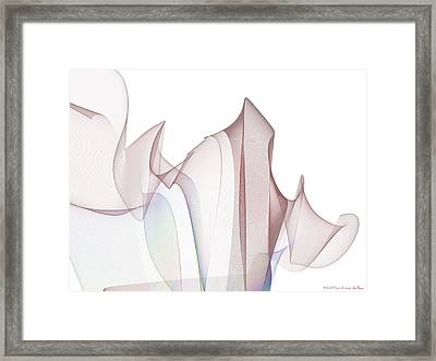 With A Flourish Framed Print by Jim  Plaxco