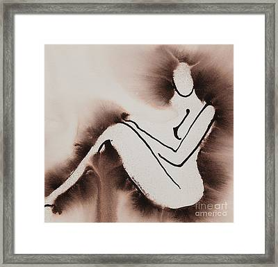 Withdrawn Framed Print by Ilisa  Millermoon