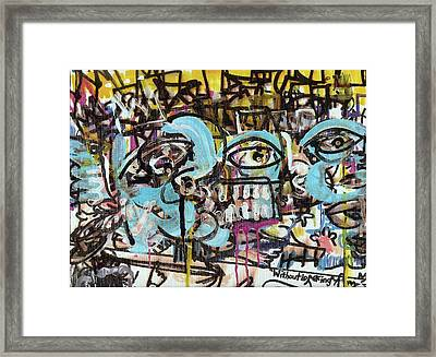 Without Looking N7 Framed Print by Robert Wolverton Jr