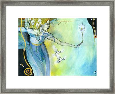 Witness Framed Print by Patricia Ariel