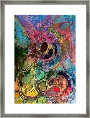Womb Of Creation Framed Print by Vijay Sharon Govender